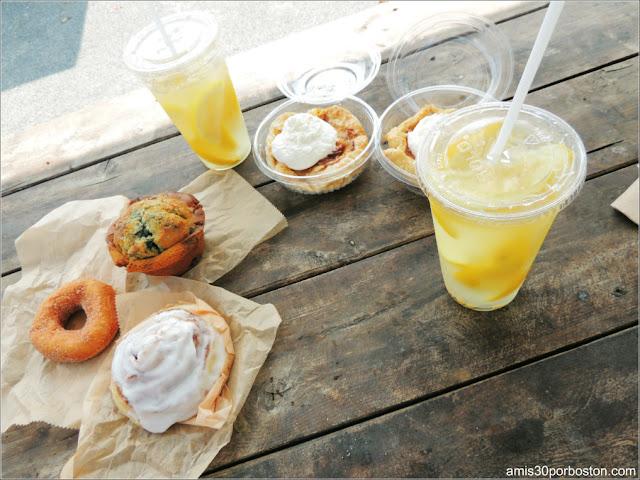 Cider Hill Farm: Desayuno