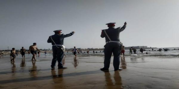 بالصورة...هيكل بشري غير مكتمل يستنفر السلطات بشاطئ الدويرة