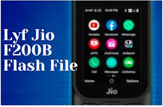 Lyf  Jio F220B flash file