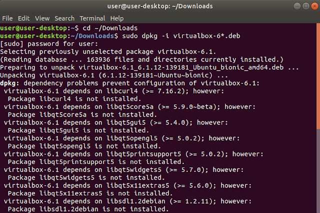 Install VirtualBox 6 di Linux Ubuntu Mudah