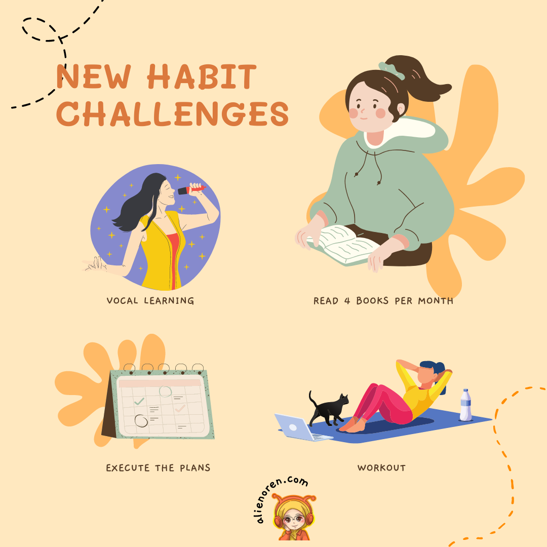 Building new habit practice by AO