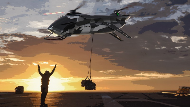 Ngắm mẫu 'xe bay' do Lamborghini thiết kế