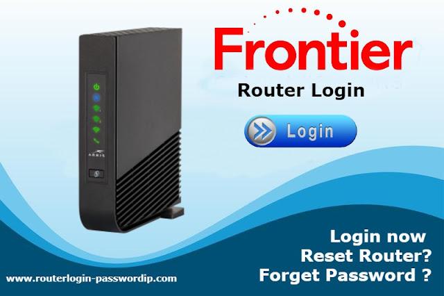 Frontier Router Login