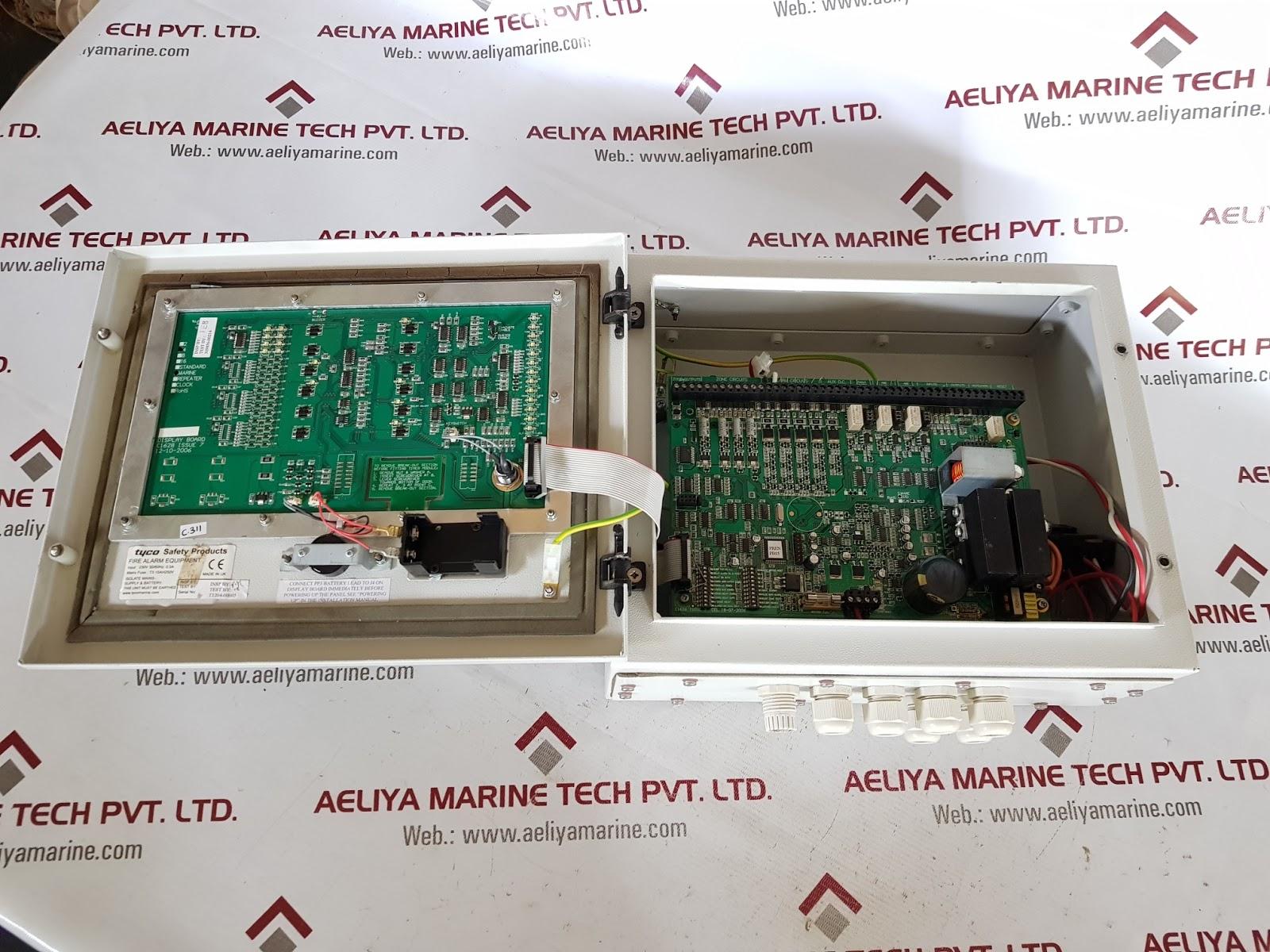 TYCO T1204A2 FIRE CONTROL PANELS | AELIYA MARINE TECH PVT LTD
