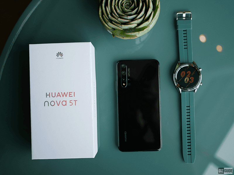 Huawei Nova 5T receives Android 10 update!
