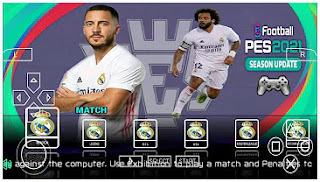 Download PES 2021 PPSSPP Special Real Madrid Edition Peter Drury Commentary & Last Transfer