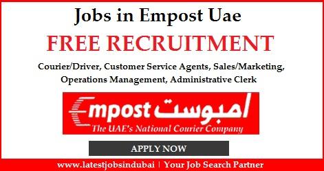Jobs in Empost Uae