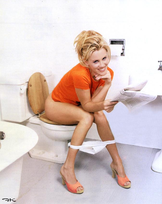 Erection through clothing