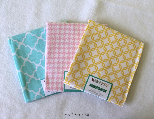National Craft Month Craft Supply Giveaway spring fabric