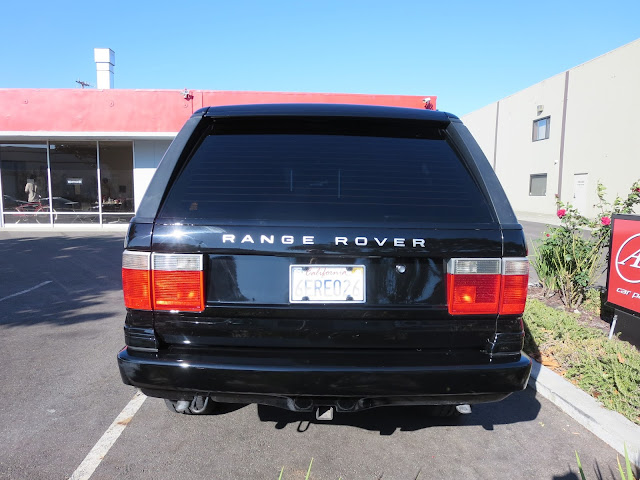 Range Rover with new paint from Almost Everything Auto Body.