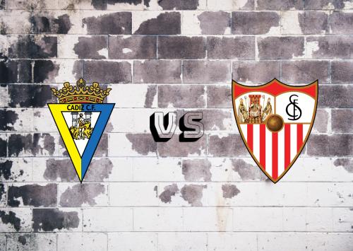 Cádiz vs Sevilla  Resumen