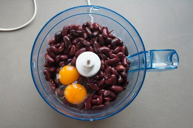 Polpette vegetariane di fagioli rossi step 2