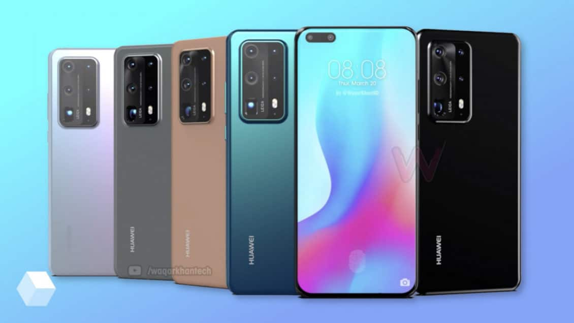 Huawei opens the door to order outside of China Huawei P40 Pro +