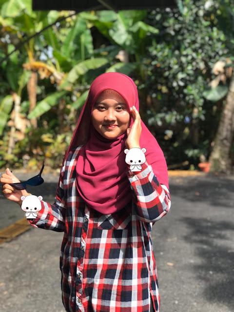 Bawal Shawl Dengan Awning Bawal Premium Kanggaro