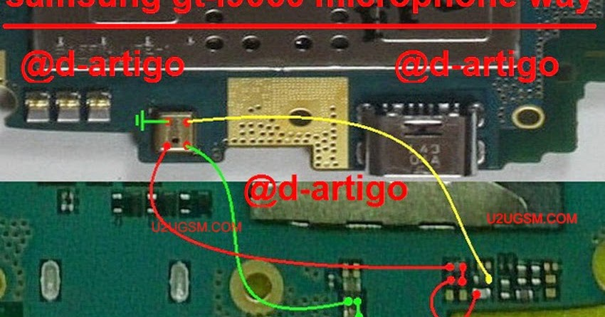 Samsung Grand Neo I9060 Mic Ways Full Jumper Solution | gsmfixer