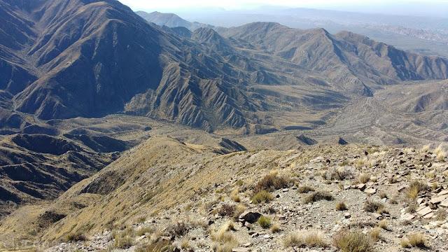 Vista, cumbre, La trodilla, cerro, trekking, senderismo, san juan, día