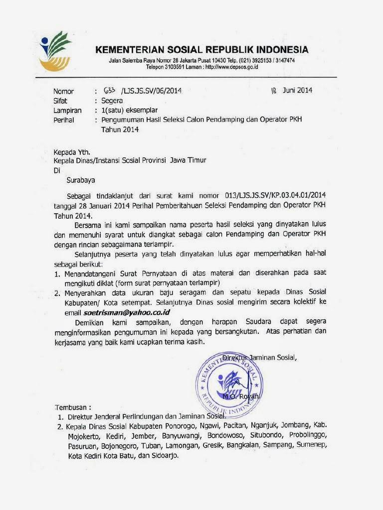 Surat Lamaran Kerja Non Cpns Contoh Dokumen