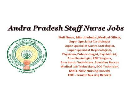 Latest Staff Nurse Jobs 2020, StaffNurse, Nursing, Nurse, Jobs, Recruitment, Notification, Nursing Jobs, AP, Andradradeh, Kadapa,