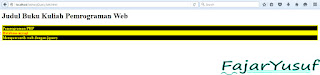 jQuery : Memahami Selector & Instal, latihan jQuery