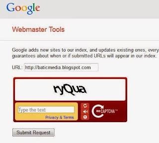 submit blog ke google