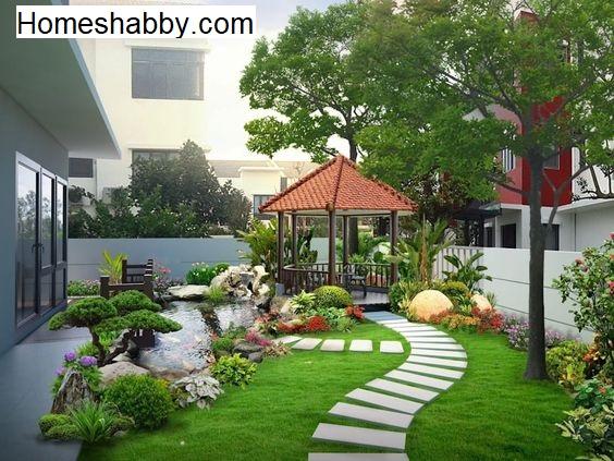 Ide Desain Taman Minimalis Cantik Di Lahan Sempit ~ Homeshabby.com : Design  Home Plans, Home Decorating And Interior Design