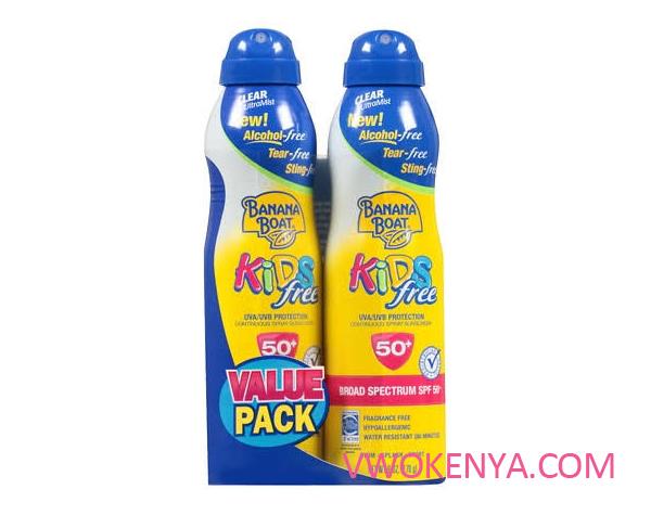 Xịt chống nắng Banana Boat Kids Free Clear Ultramist Sunscreen Spray