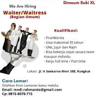Info Lowongan Pekerjaan di Dimsum Suki XL Surabaya Juni 2021