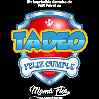 Logo de Paw Patrol: TADEO