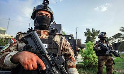 قيادة عمليات بغداد تلقي القبض على عدد من المهتمين واسلحة غير مرخصة