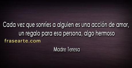 Madre Teresa - frases de amor
