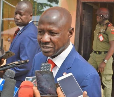 Suspended Acting EFCC Boss, Ibrahim Magu Released From Detention