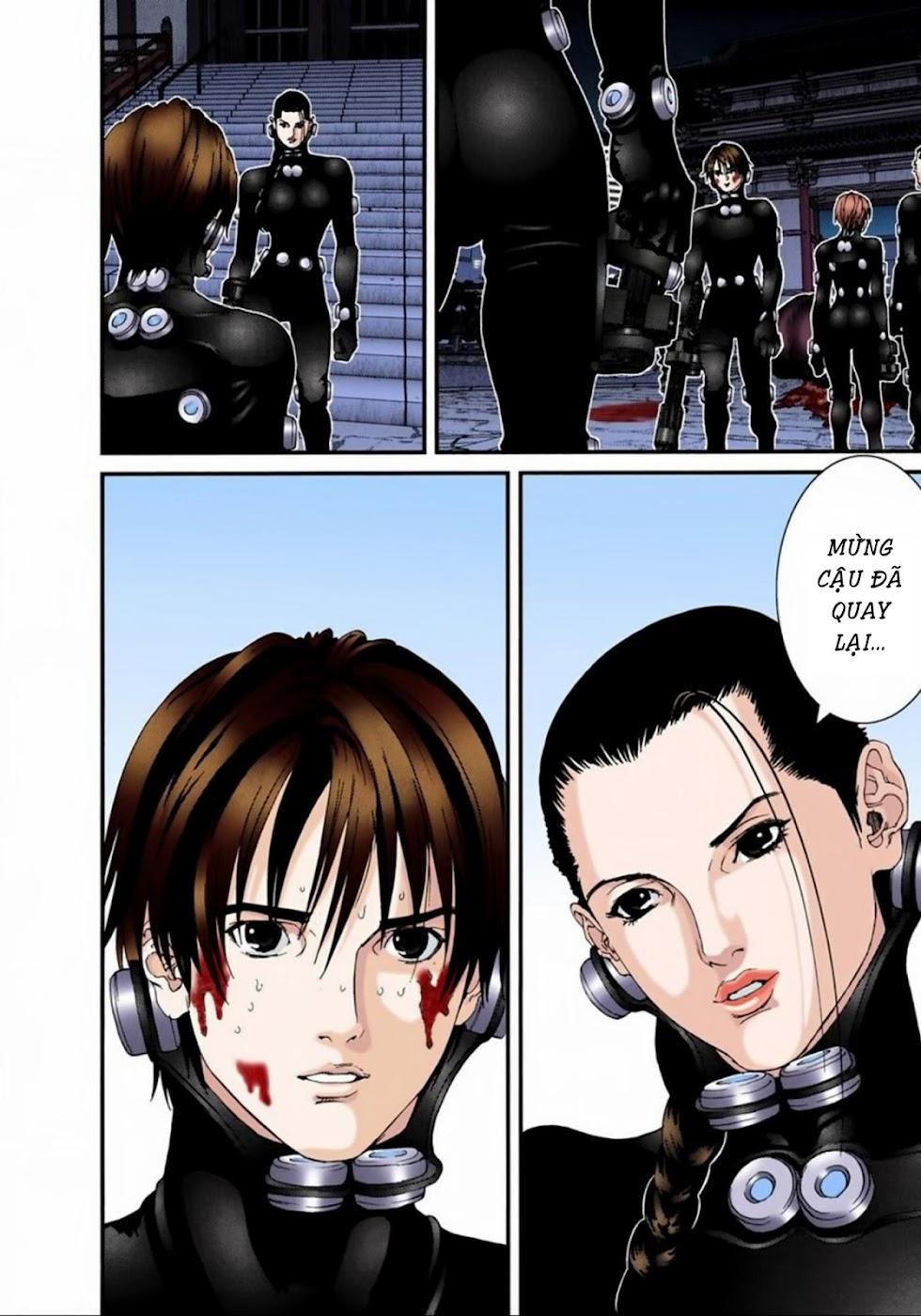 Gantz Chap 67: Phá hủy trang 10