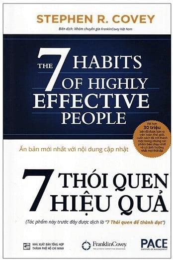 Sách Phát Triển Kỹ Năng: 7 THÓI QUEN HIỆU QUẢ - Stephen R Covey.