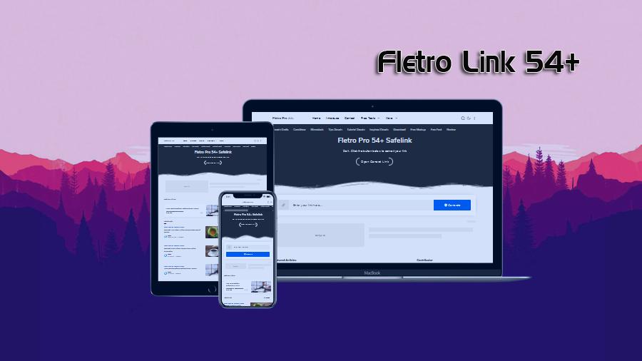 Fletro Link 54+ Redesign Responsive Belogger Template