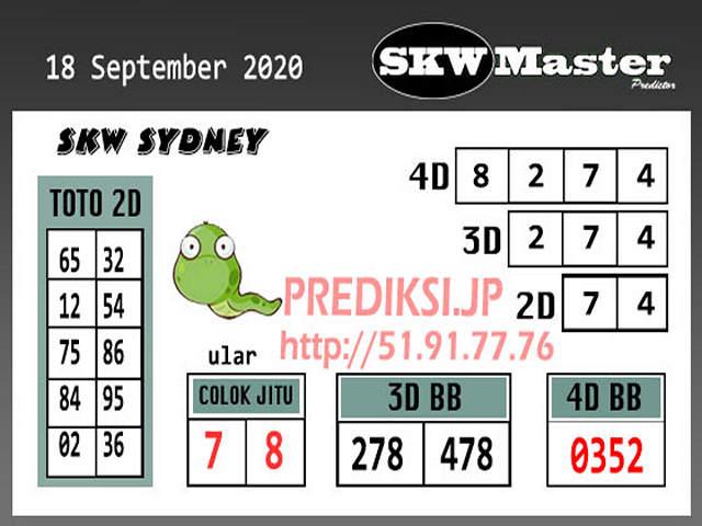 Kode syair Sydney Minggu 18 Oktober 2020 253