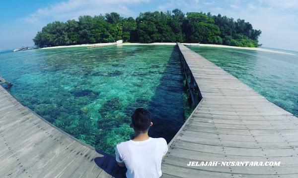 konsumsi wisata open trip pulau harapan