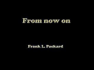 From now on (1919) pdf novel