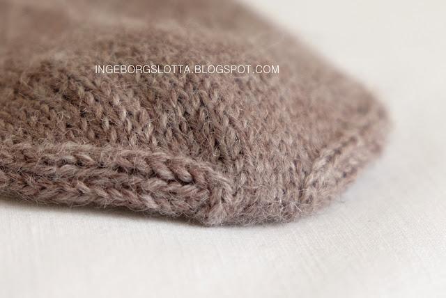 Kitchener stitch on socks