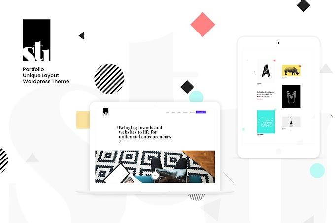 Download Theme Portfolio - Stunsig Creative WordPress Theme