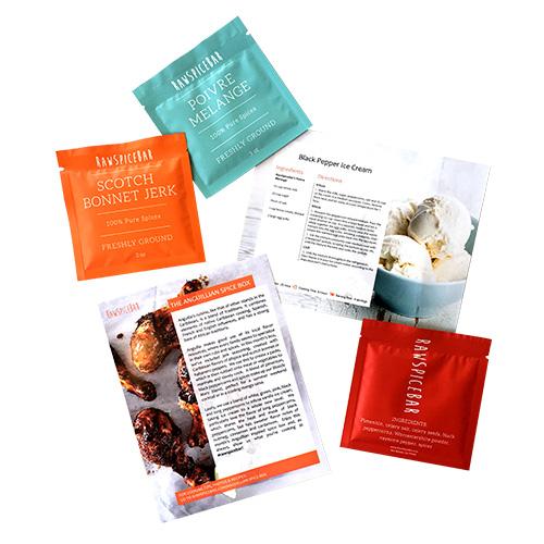 Monthly Spice Box from Rawspicebar