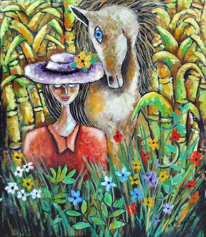 Современный кубинский художник. Antonio Perez Bornot
