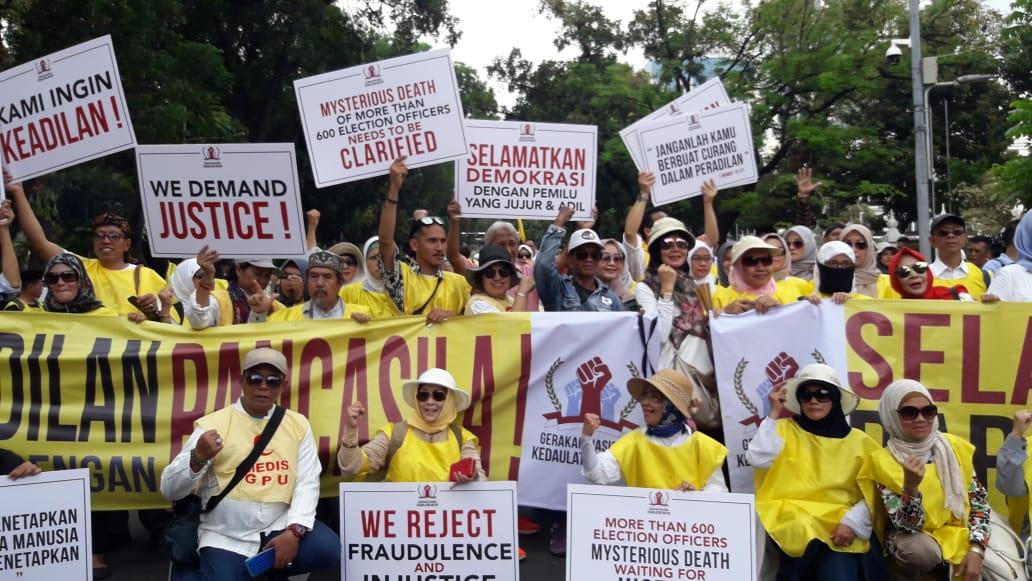 Berani Pimpin Aksi Damai di MK, Ini 8 Tuntutan Gerakan Kedaulatan Rakyat