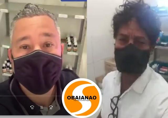 Vereadores Bolinha e Charles Sena partem pro contraditório acerca de remédios nos postos de saúde em Porto Seguro