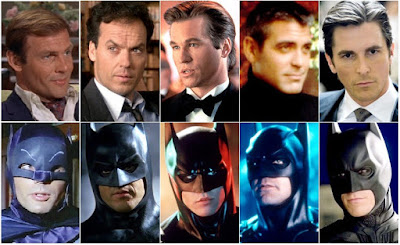who's play as a batman, batman actors list,senarai pemegang watak batman