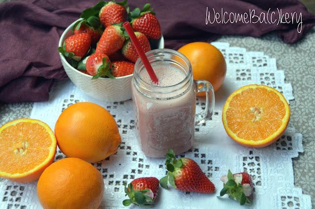fragole e arancia