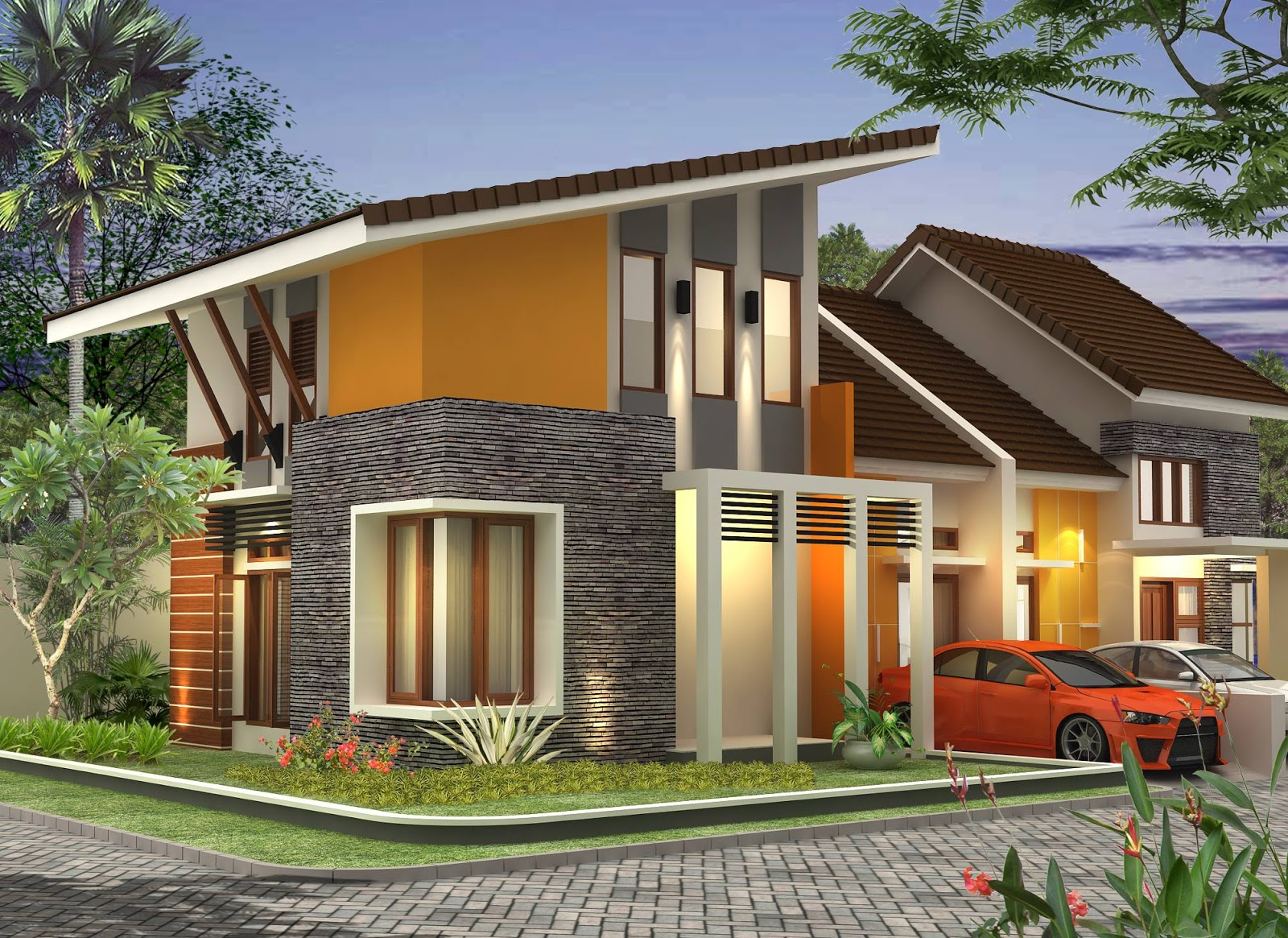 Top Model Atap Rumah Minimalis Trap 3 Gubukhome