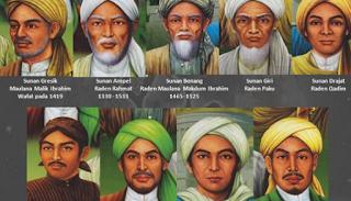 sejarah para Walisongo dan daerah penyebaran Islam