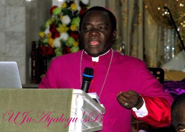 2019: Bishop Kukah Reacts To Atiku's Absence At Signing Of Peace Accord