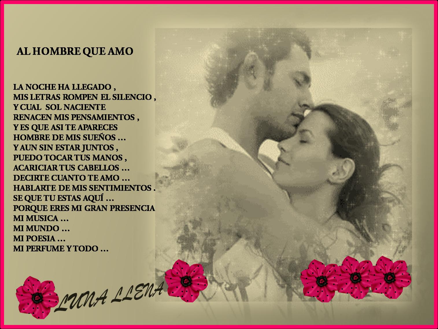 Poemas de amor cortos para enamorar imagenes postales