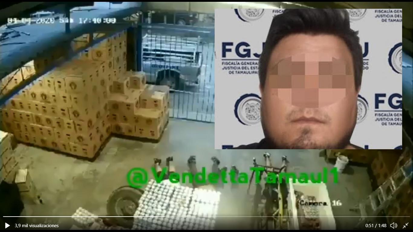 """Video: Cae """"El Gordo Brackets"""" del Cártel del Golfo por esta masacre donde ejecutaron a 7 personas en Depósito de Reynosa"""